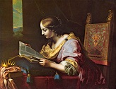 DOLCI/St_Catherine_Reading_a_Book