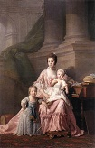RAMSAY_Allan/Queen_Charlotte_With_Her_Two_Children